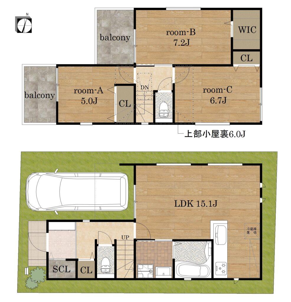 【郡3丁目】新築戸建て
