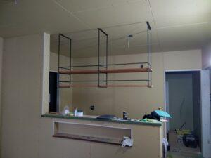 新しくキッチン吊り戸