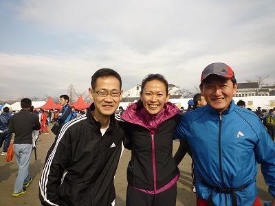 3月7日(マラソン大会でました)