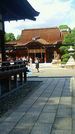 京都城南宮に行きました