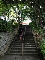 最後の階段!