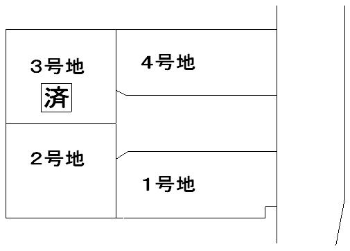 主原区割り図