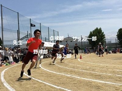 中学校の体育大会♪